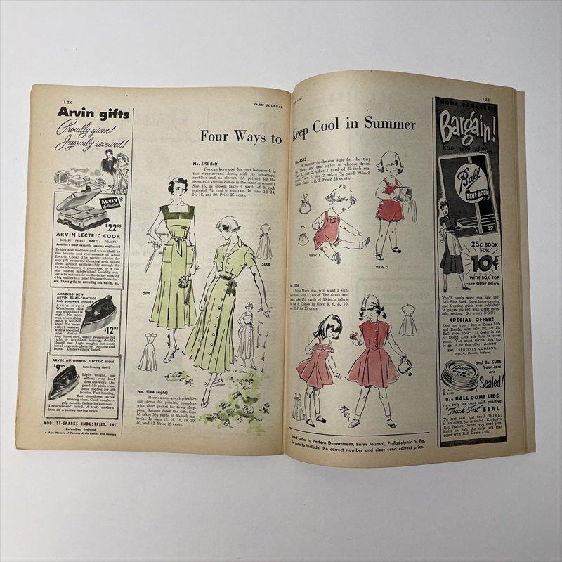 ヴィンテージマガジン ファームジャーナル 1949年6月号 パイレックス広告有【画像8】