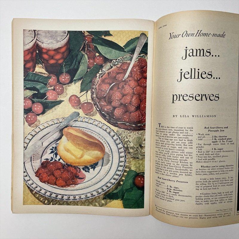ヴィンテージマガジン ファームジャーナル 1949年6月号 パイレックス広告有【画像10】