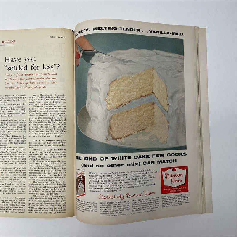 ヴィンテージマガジン ファームジャーナル 1957年6月号7UP&ボーデン広告有【画像6】