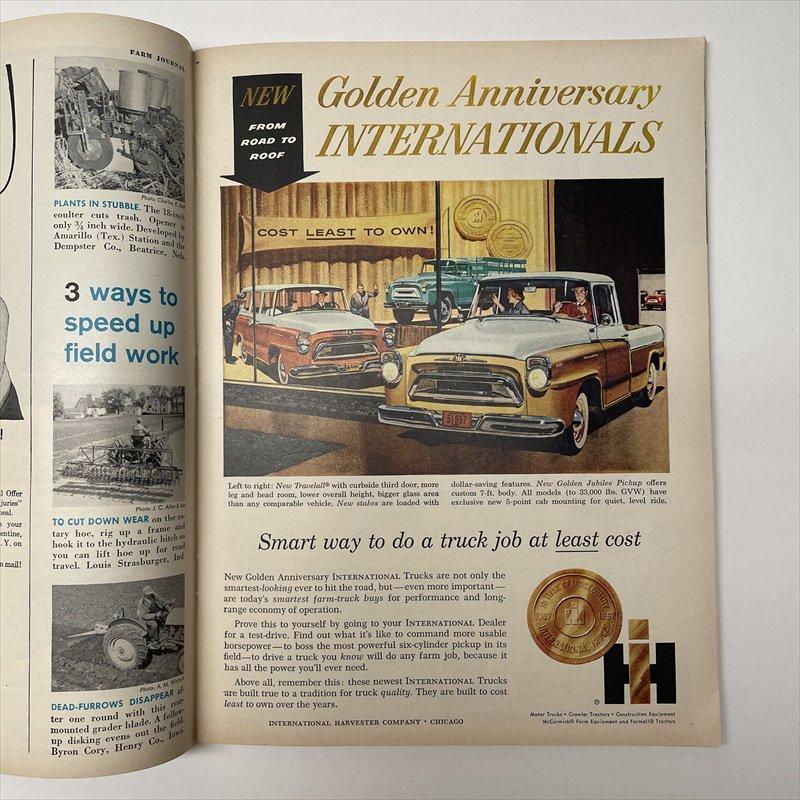 ヴィンテージマガジン ファームジャーナル 1957年6月号7UP&ボーデン広告有【画像9】