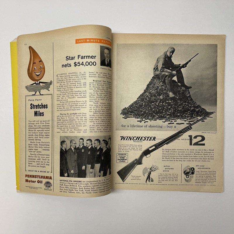 ヴィンテージマガジン ファームジャーナル 1957年11月号7UP広告有【画像11】