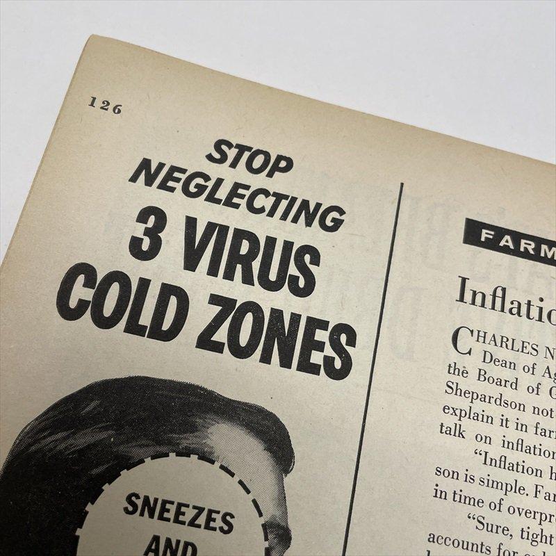 ヴィンテージマガジン ファームジャーナル 1957年11月号7UP広告有【画像3】