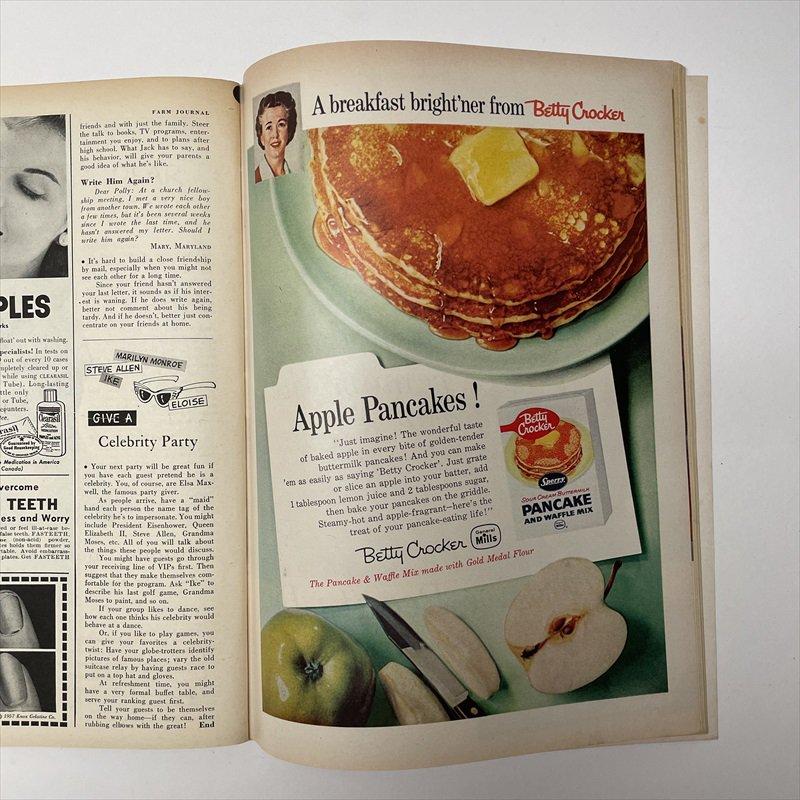 ヴィンテージマガジン ファームジャーナル 1957年11月号7UP広告有【画像6】