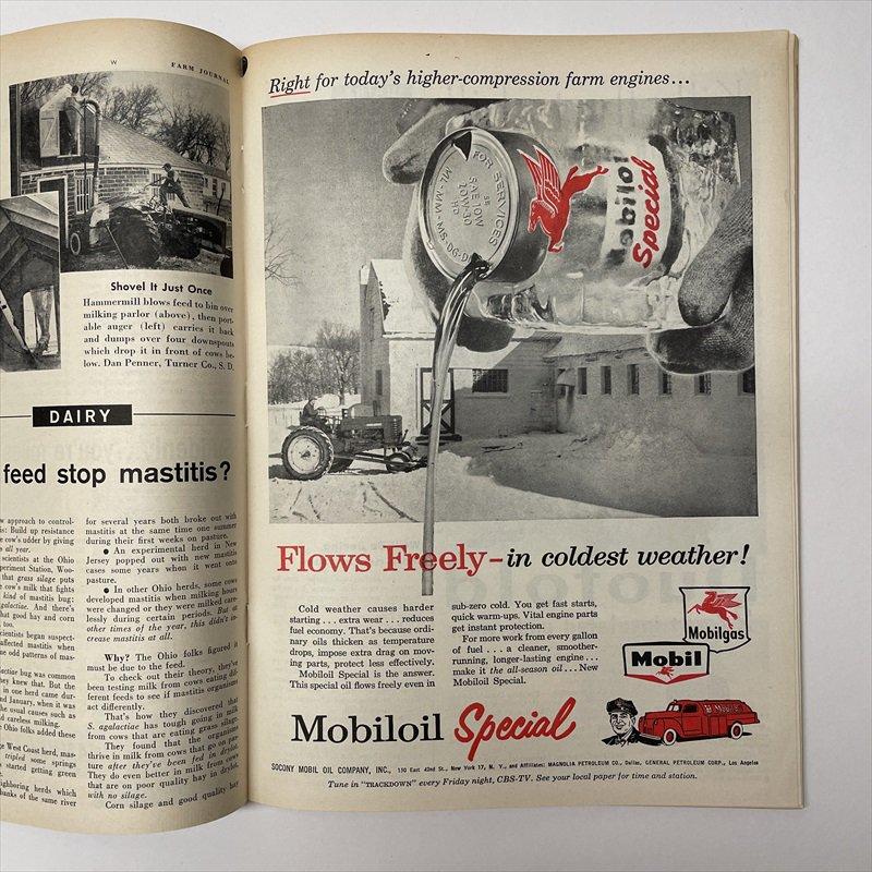 ヴィンテージマガジン ファームジャーナル 1957年11月号7UP広告有【画像9】
