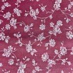 シーツ&ハンドメイド素材  ヴィンテージファブリック ソフトピンク&白いお花はぎれ