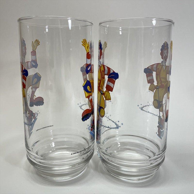 マクドナルド 2002年 ロナルド キックボード グラス A【画像2】