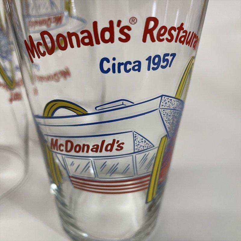 マクドナルド 1995年 ミルクシェイクグラス McDonald Restaurant Circa 1957【画像6】