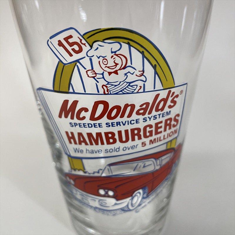 マクドナルド 1995年 ミルクシェイクグラス スピーディーとドライブスルー C【画像2】