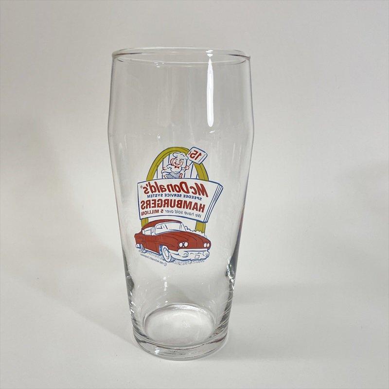 マクドナルド 1995年 ミルクシェイクグラス スピーディーとドライブスルー C【画像4】