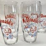 マクドナルド 1995年 ミルクシェイクグラス スピーディー A