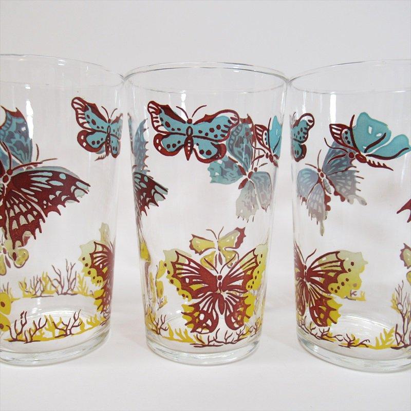 フェデラルグラス レトロバタフライグラス