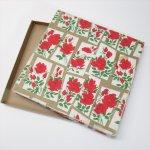 パッケージ&パッケージに味のある雑貨&チーズボックスなど  1940年代 ローズプリントボックス