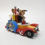 その他キャラクター  ポパイ 1967年 イギリス製コーギー社 Paddle Wagon ダイキャストトイ
