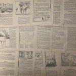 チケット、スコアパッドなどの紙物・紙モノ雑貨  紙モノセット コピーライト1929年 児童書ページセット 33枚 #2