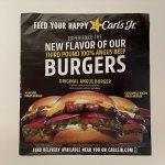 ブックス  カールズジュニア広告 Original Angus Burger