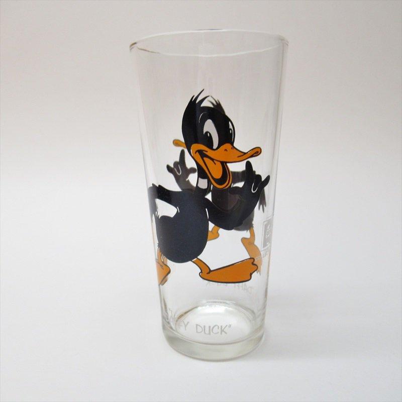 ルーニーテューンズ ダフィーダック ペプシ販促用グラス 1970年代
