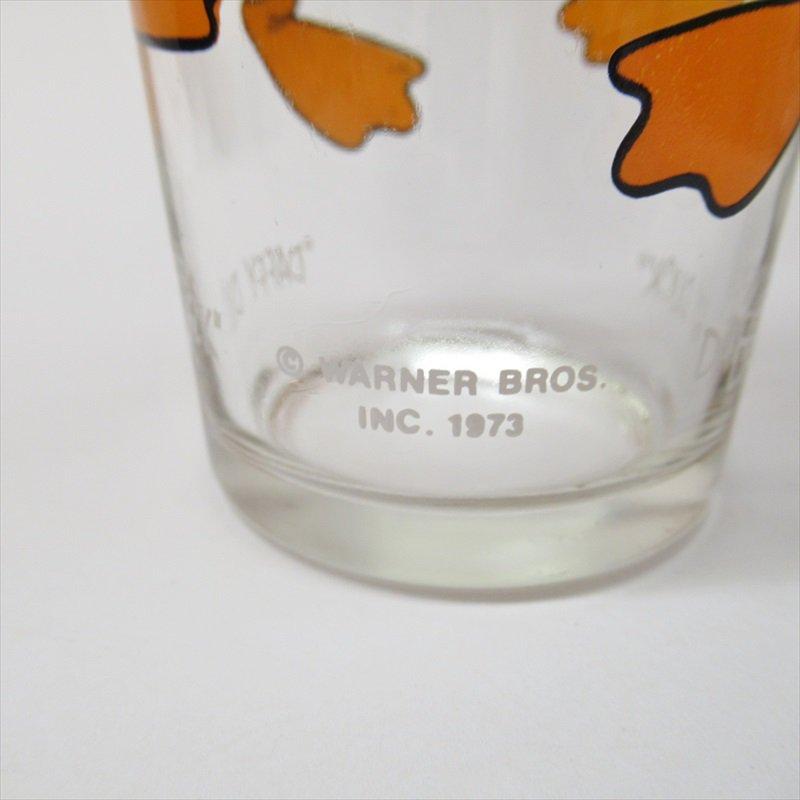 ルーニーテューンズ ダフィーダック ペプシ販促用グラス 1970年代【画像3】