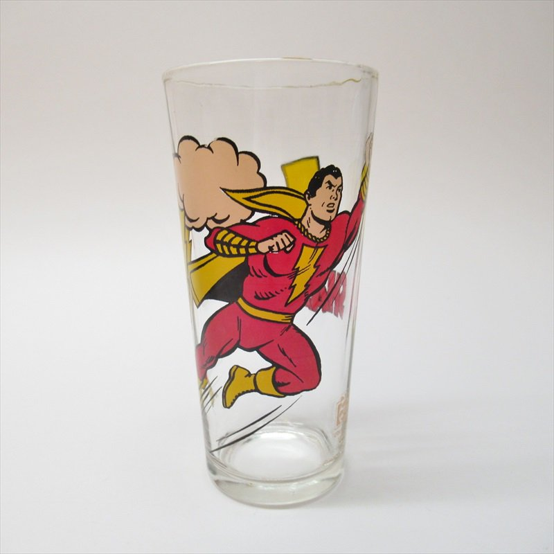 シャザム スーパーヒーローズコレクターシリーズ ペプシ販促用グラス 1970年代