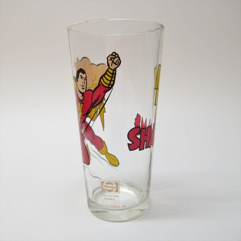 シャザム スーパーヒーローズコレクターシリーズ ペプシ販促用グラス 1970年代【画像2】