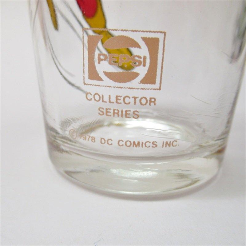 シャザム スーパーヒーローズコレクターシリーズ ペプシ販促用グラス 1970年代【画像3】