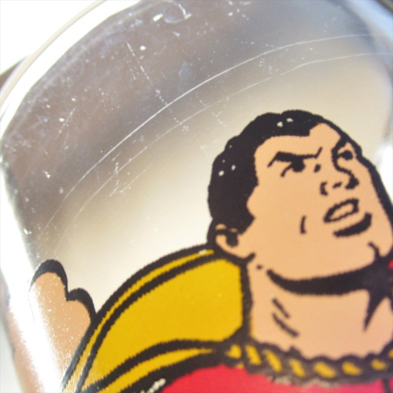 シャザム スーパーヒーローズコレクターシリーズ ペプシ販促用グラス 1970年代【画像24】