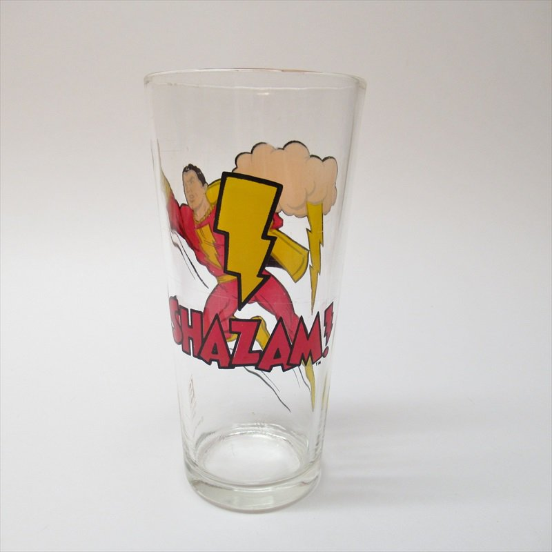 シャザム スーパーヒーローズコレクターシリーズ ペプシ販促用グラス 1970年代【画像4】