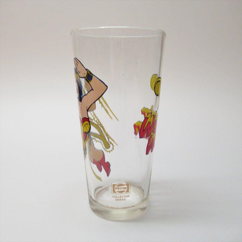ワンダーウーマン ペプシ販促用グラス 1970年代【画像2】