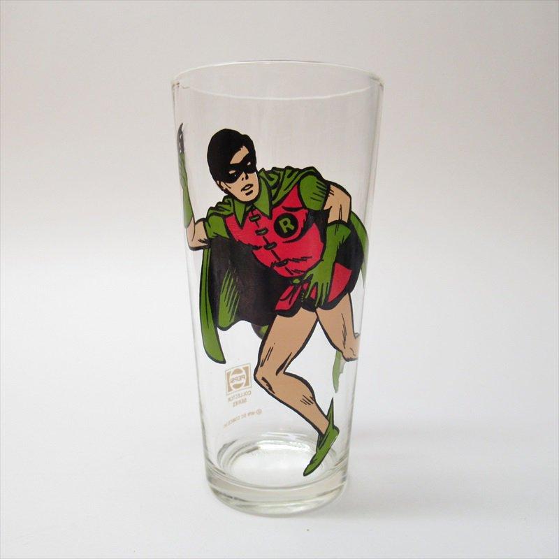 バットマン ロビン ペプシ販促用グラス 1970年代