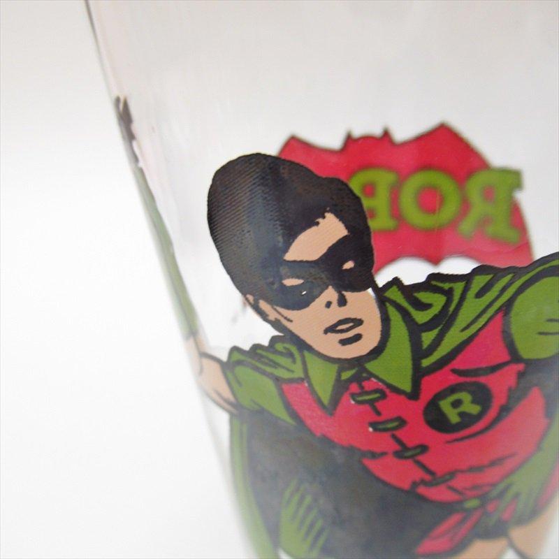 バットマン ロビン ペプシ販促用グラス 1970年代【画像3】
