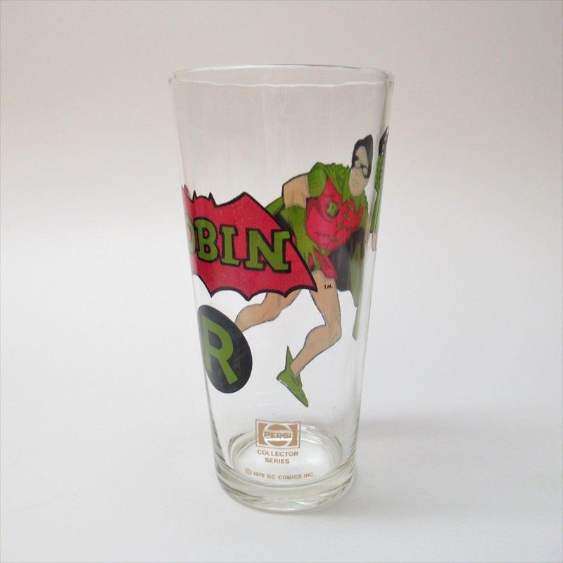 バットマン ロビン ペプシ販促用グラス 1970年代【画像8】
