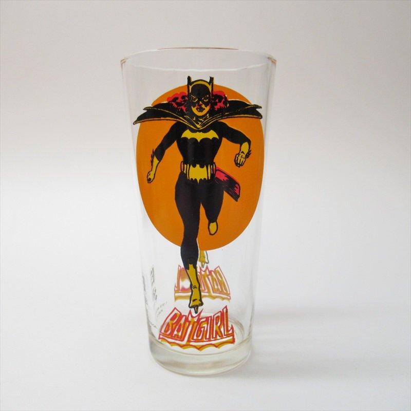 バットマン バットガール ペプシ販促用グラス 1970年代