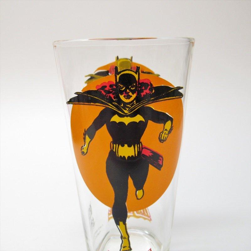バットマン バットガール ペプシ販促用グラス 1970年代【画像2】