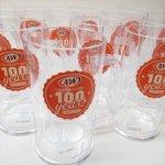 アドバタイジング・組織系  A&W エンダー 100周年記念 プラスチック製 ビアジョッキ マグ デッドストック