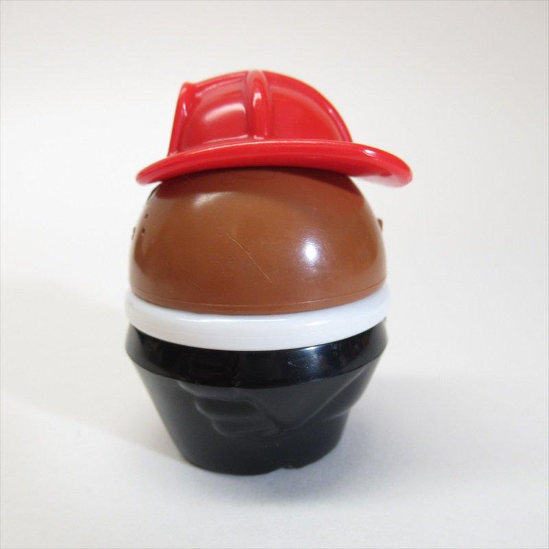 リトルタイクス トドルトッツ用 小さ目帽子消防士 黒人 B【画像2】