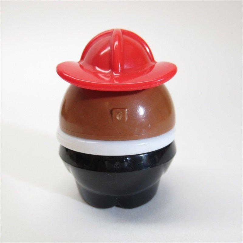 リトルタイクス トドルトッツ用 小さ目帽子消防士 黒人 B【画像3】