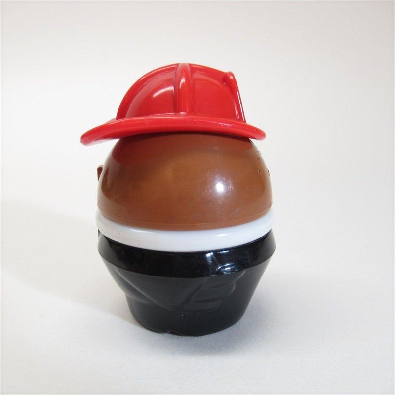 リトルタイクス トドルトッツ用 小さ目帽子消防士 黒人 B【画像4】