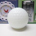 ファイヤーキング ゴルフボール トリンケット ホワイト A