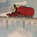 キャラクター  ヴィンテージシーツ 機関車トーマス Thomas & Friend ゴム入り