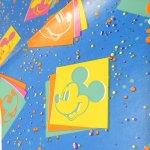 キャラクター  ヴィンテージラッピングペーパー ディズニースクエアミッキー2枚セット
