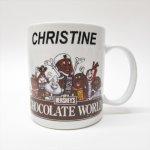 キッチン  ハーシーズ Christine チョコレートワールド陶器製 マグ