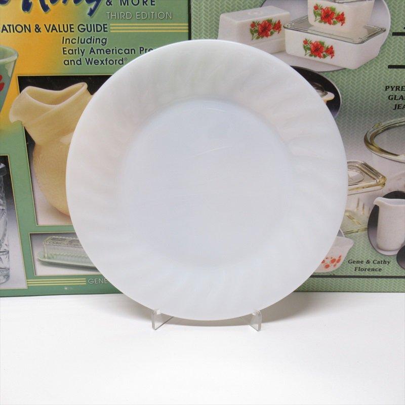 ファイヤーキング ホワイト スワール サラダプレート C