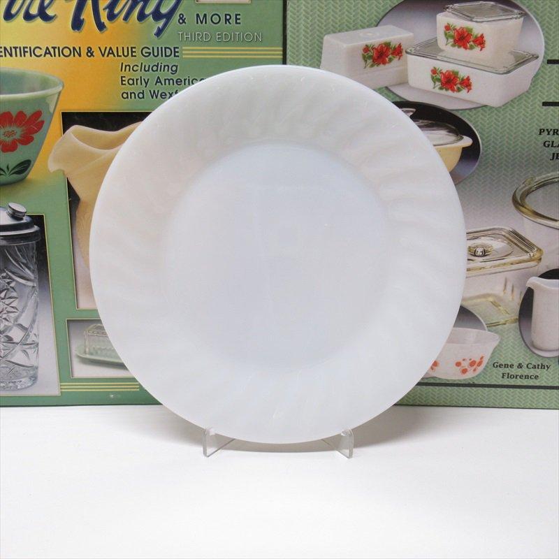 ファイヤーキング ホワイト スワール サラダプレート D