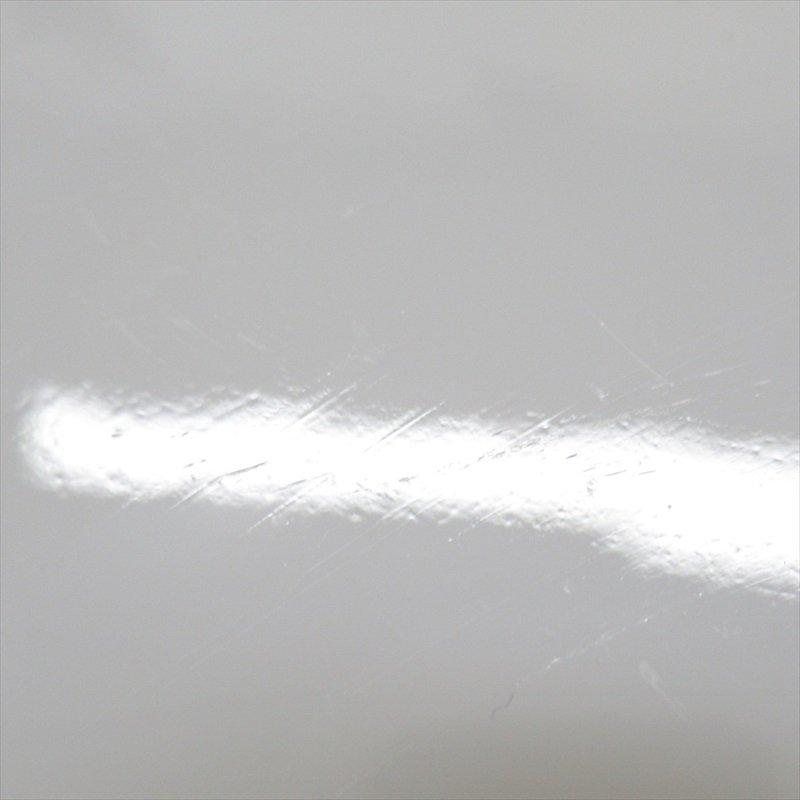 ファイヤーキング ホワイト スワール サラダプレート D【画像3】