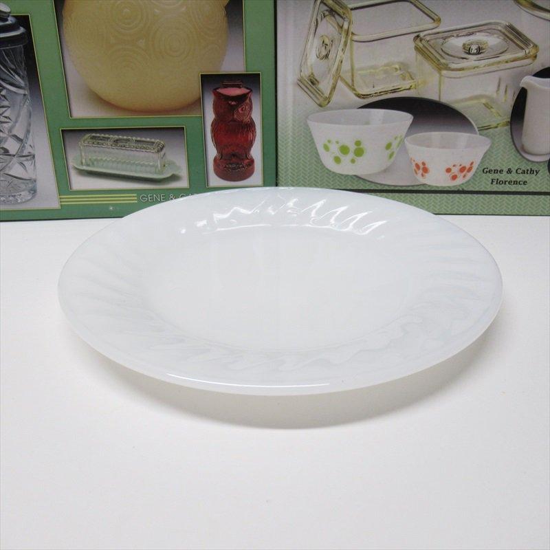 ファイヤーキング ホワイト スワール サラダプレート H【画像2】
