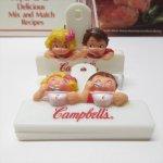 クリップ&クリップボード&ファイル&ノート  キャンベルキッズ クリップ スープを楽しむ男の子と女の子