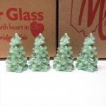 ★現行品・ガラス商品  モッサーグラス Mosser Glass ジェダイ 2.75インチ ひいらぎ ハンドペイント クリスマスツリー