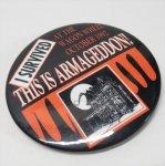 ハロウィン&サンクスギビング  ハロウィンハルマゲドン 缶バッチ 1992年