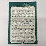 チケット、スコアパッドなどの紙物・紙モノ雑貨  紙モノ雑貨 ヴィンテージ クリスマスミュージック楽譜