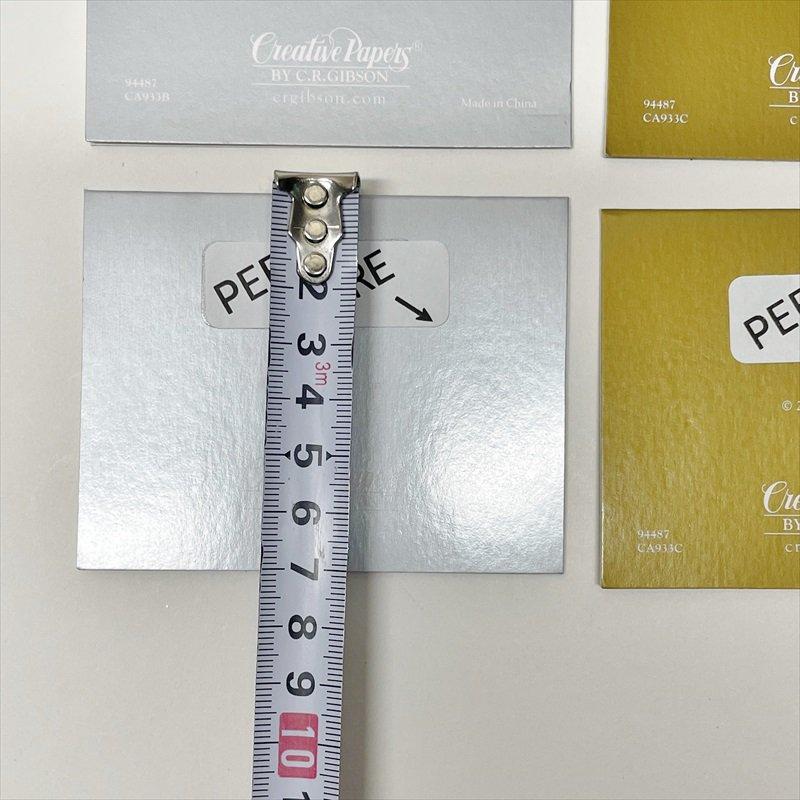 紙モノ雑貨 ヴィンテージ クリスマスカード型 プレゼント用タグ6枚セット【画像4】