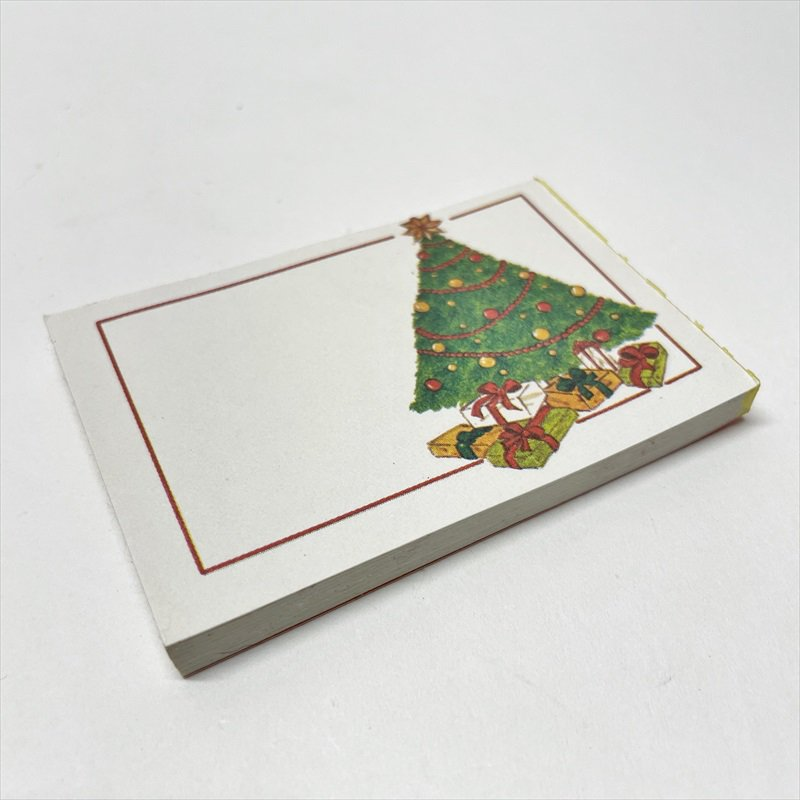 紙モノ雑貨 ヴィンテージ クリスマスプレゼント用タグシール 22枚セット